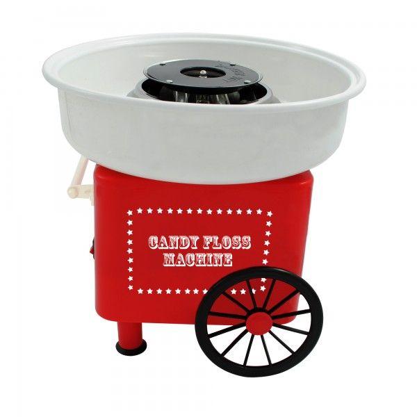 Con esta máquina para hacer algodón de azúcar harás de cualquier fiesta todo un evento.Puedes hacer bolas de algodón del tamaño que quieras en tan sólo unos minutos, simplemente tienes que añadie azúcar normal o de colores o sabores y ¡listo para comer!