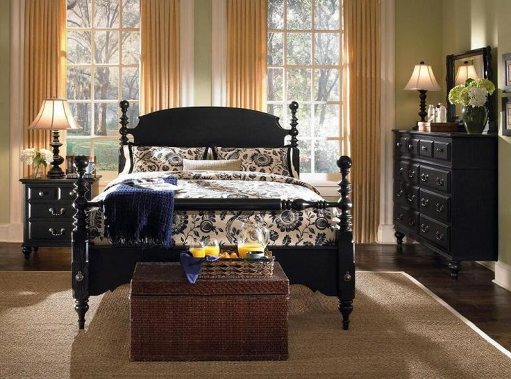 Lovely Kincaid Furniture   American Heartland   Queen Cannonball Bed    DISCONTINUED ITEM | MK Home Design (Like The Black Print) | Bedrooms |  Pinterest | Kincaid ...