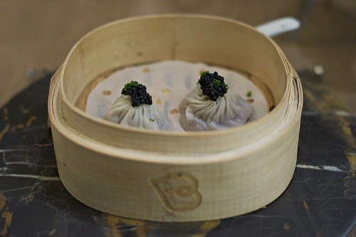 Dim sum from Bo London - Alvin Leung - blog post by @Chris Cote Cote Osburn