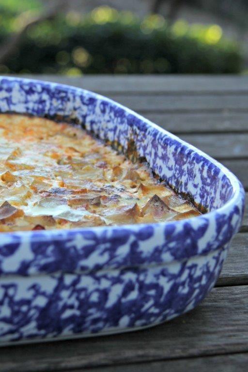 Spotlight on Potatoes with Bulgarian Moussaka