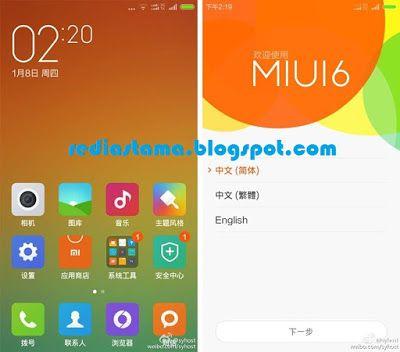 Update Xiaomi Redmi 1s Ke MIUI 6 Kitkat