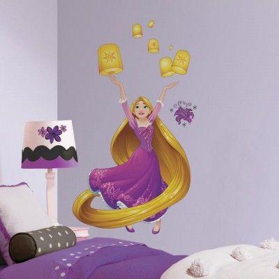 Luxury Disney Princess Rapunzel Giant Wall Decals