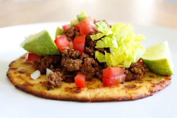 Primal Tex-Mex Tortillas Taco Seasoning. Can use ground turkey instead of beef