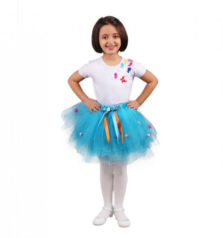 23 Nisan Kız Çocuk Tütü Etekli 3 Lü Takım 037-23M01-037 | Modelleri ve Uygun Fiyat Avantajıyla | Modabenle