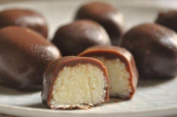 Творожные шарики в шоколаде | Школа шеф-повара