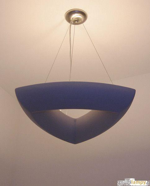 Cleoni Roma trójkątna lampa wisząca 3-punktowa ZW 1043c 1857 - Multilampy.pl
