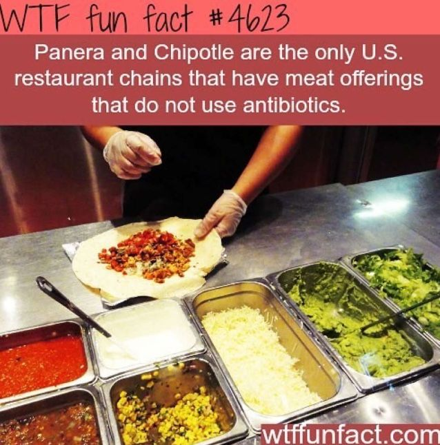 Yea but chipotle has had issues with bad red meat...its a chance you take really...anywhere you eat