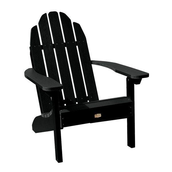 Hamptonburgh Essential Plastic Adirondack Chair Plastic