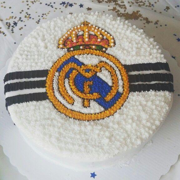Best 25 real madrid cake ideas on pinterest real madrid soccer real madrid and info real madrid - Real madrid decorations ...