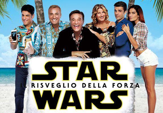 Il botteghino italiano tradisce STAR WARS: IL RISVEGLIO DELLA FORZA e il 25 dicembre vince VACANZE AI CARAIBI