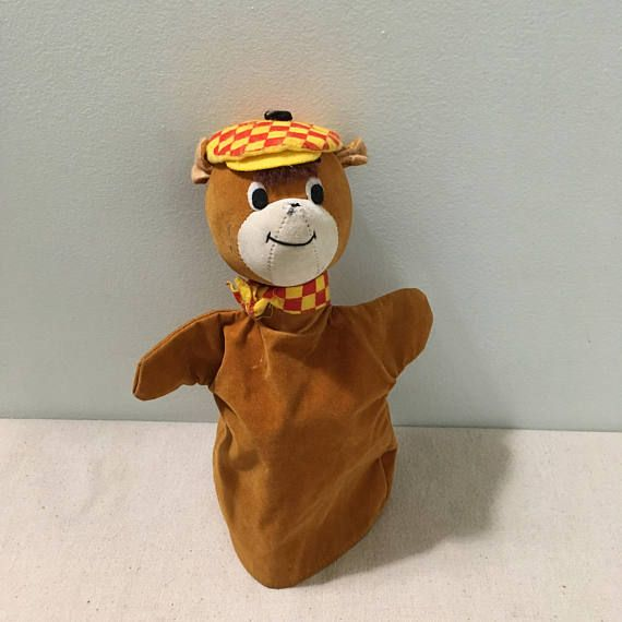 Vintage Hand Puppet for sale on Etsy.