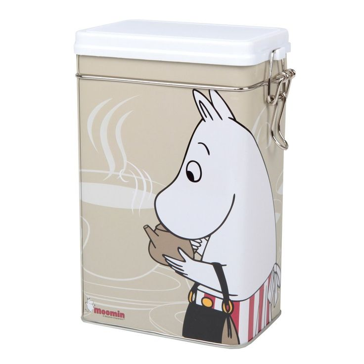 Moomin Moominmamma coffee jar beige - The Official Moomin Shop