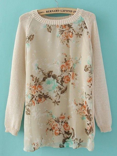 Pretty, vintage sweater.