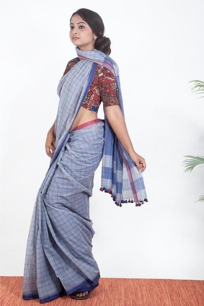 c8a08c6807 Khadi Saree Online Khadi Silk Sarees Pure Khadi Sarees Handloom Khadi  Cotton Sarees