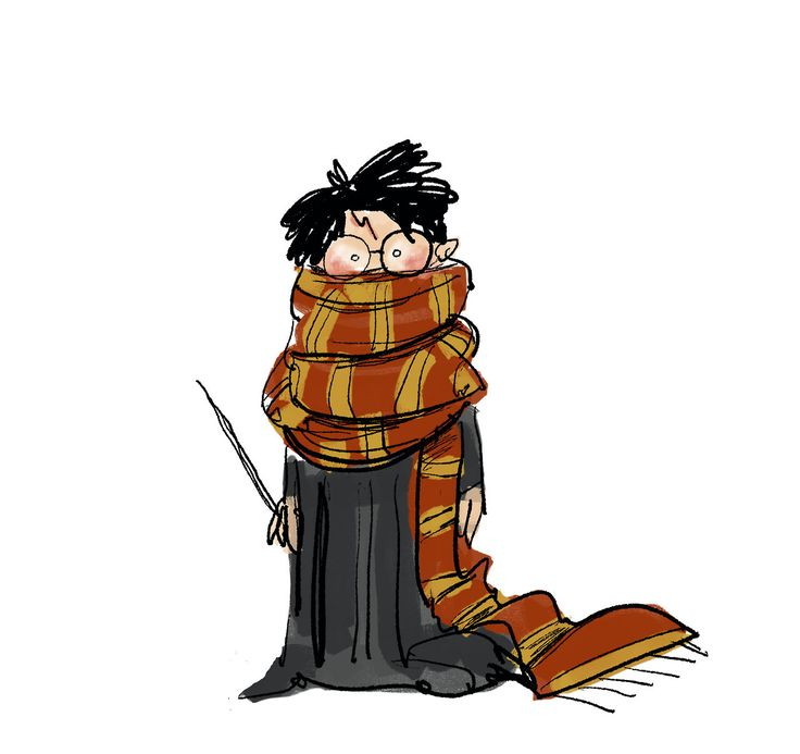 "barryjohnson77: ""Scarf weather. Harry Potter """