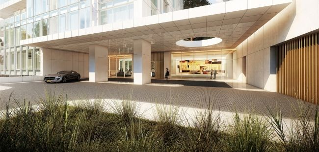Жилой комплекс Vitrvm © Richard Meier & Partners