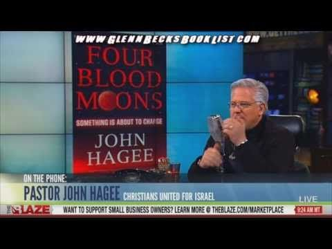 "▶ John Hagee on his book ""Four Blood Moons"" with Glenn Beck - YouTube"