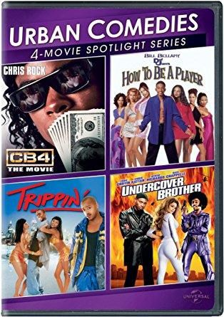 Bill Bellamy & Deon Richmond & Lionel C. Martin & David Raynr -Urban Comedies 4-Movie Spotlight Collection How to Be a Player / Trippin' / CB4 / Undercover Brother