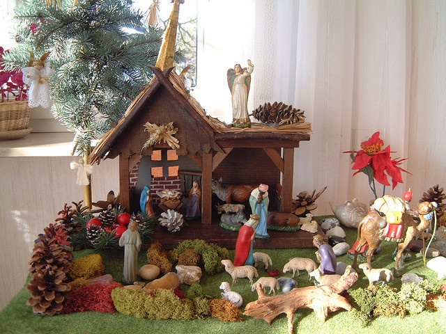 11 best images about weihnachtsdekoration on pinterest - Alessi krippe ...