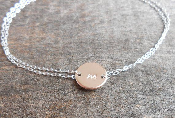 Personalised bracelet - see more ideas at http://themerrybride.org/2014/09/06/ideas-for-personalising-your-wedding/