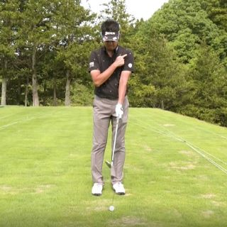 Approach that doesn't go wrong moves here-Hidemasa Hoshino professional golf lesson video