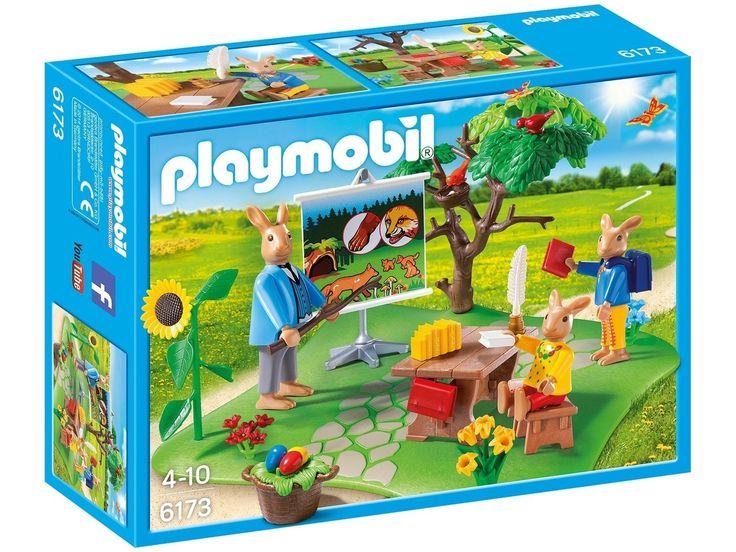 playmobil ostern osterhasenschule 6173 ostern steht vor