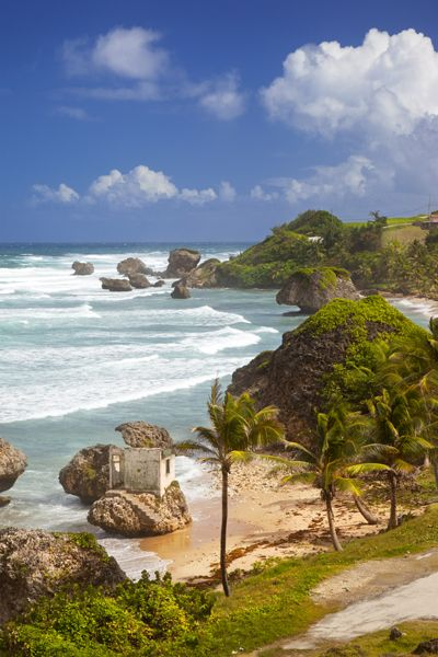 Bathsheba Beach along the east coast of Barbados, West Indies - Brian Jannsen Photography