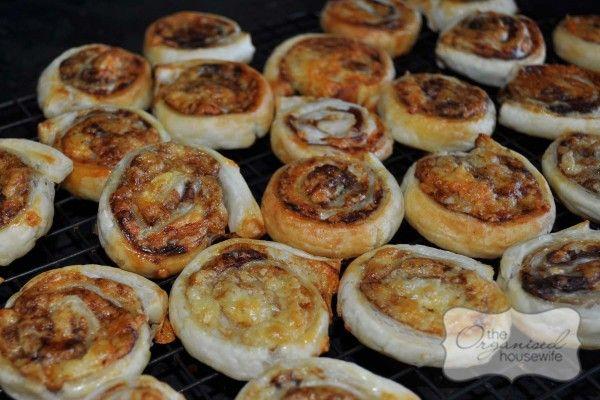 Super easy lunch box snacks Vegemite and Cheese scrolls