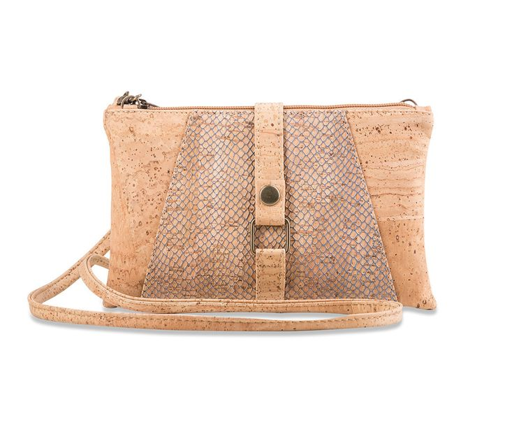 New!  Braga Cork Purse, Vegan, Eco-Friendly, Lightweight. Use cross body or as a clutch!