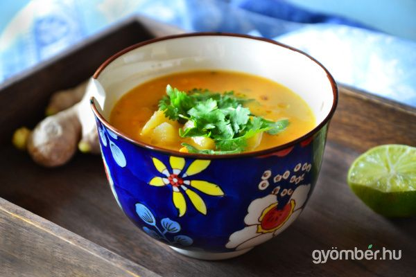Thai potato soup | Illatos thai krumplileves #vegetarian