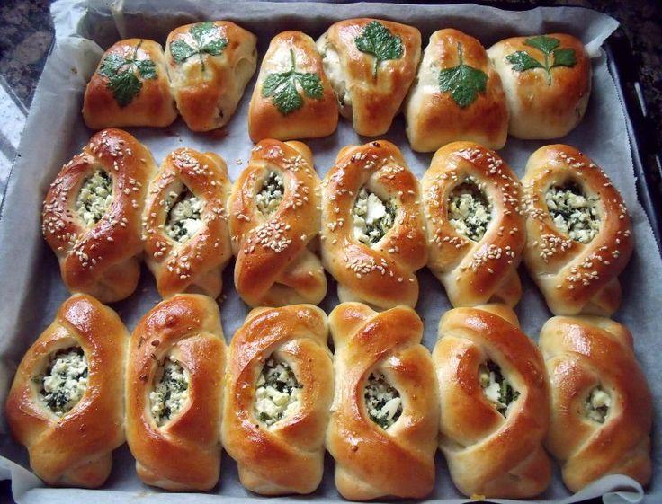 Super zachte broodjes met feta en peterselie   Ramadanrecepten.nl