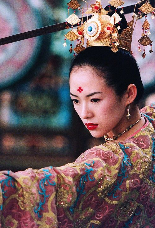 Zhang Ziyi in House of Flying Daggers #chinoiserie