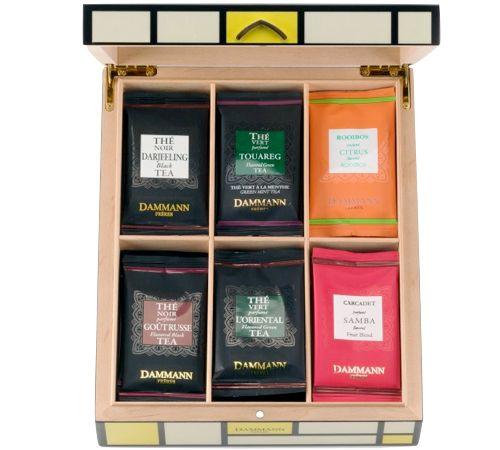 Coffret thé Foxtrot - 36 sachets de thé - Dammann