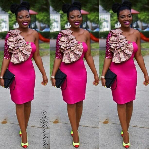 17  images about African ✯ Fashion ~ Short Dresses ✯ on ...