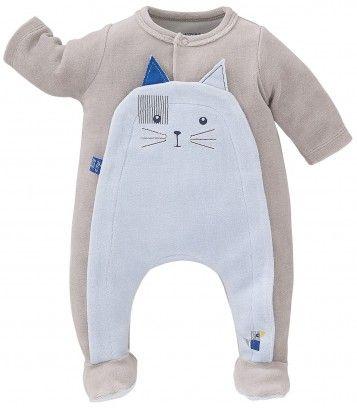 Pyjama bébé velours Sucre d'Orge