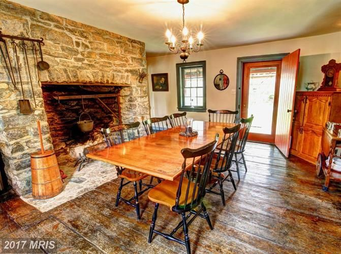 """$374,900 - View 30 photos of this 6 Beds 3.1 Baths Federal home built in 1770. """"GRANTHAM-STONE HOUSE""""-RESTORED HISTORIC Middleway WV Home w/RICH HISTORY!Pr"""