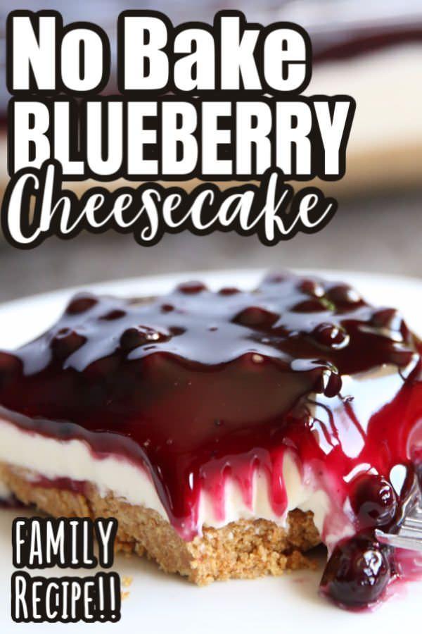 No Bake Blueberry Cheesecake Happy Hooligans Recipe In 2020 No Bake Blueberry Cheesecake Blueberry Cheesecake Easy Cheesecake Recipes
