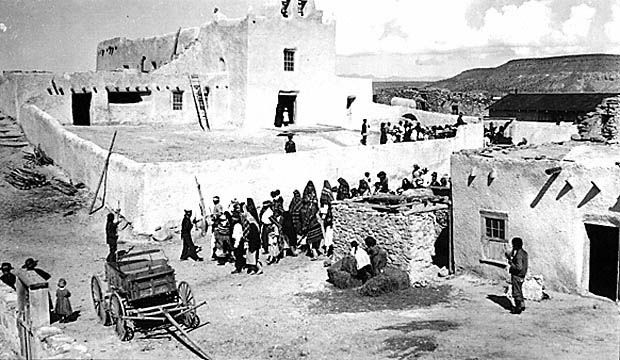 Pueblo of Laguna - No date - Photographer unknown.