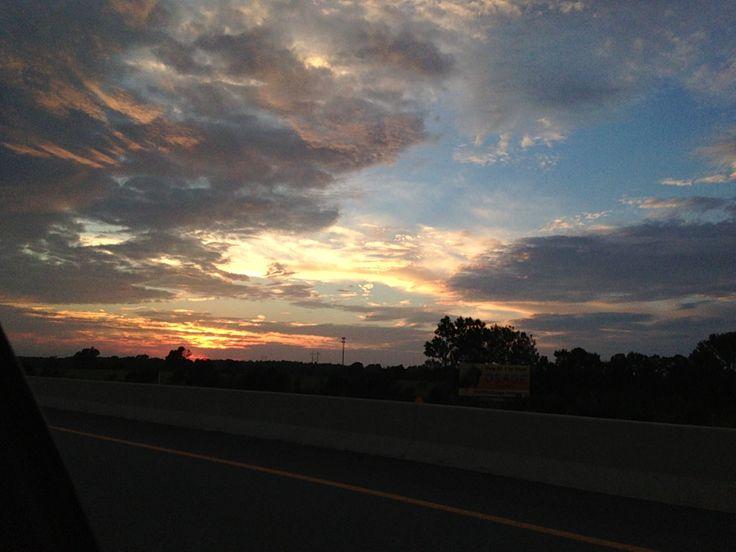 Oklahoma sunset.... ..