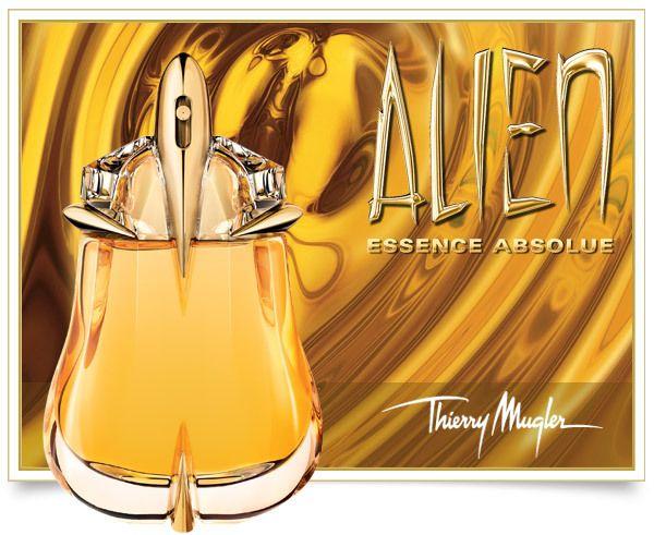 Thierry Mugler Alien Essence Absolue Eau Parfum - Thierry Mugler é um estilista francês e fotógrafo. Thierry Mugler Alien. A primeira fragrância da Mugler, Angel, foi introduzido em 1992