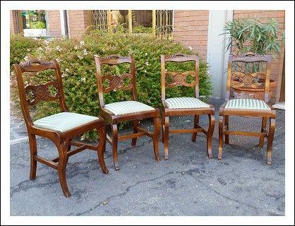 Sedie riciclate ~ Oltre fantastiche idee su sedie su credenza