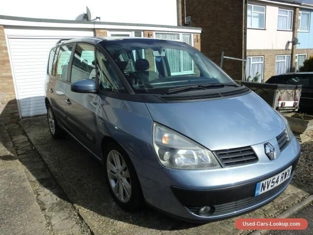 Renault Espace 2.2 DCi Expression Automatic 5 door MPV diesel in blue  2004 #renault #espace #forsale #unitedkingdom