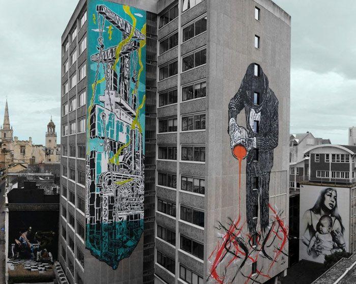 El arte ya no solo se ve las galerías o buscando esculturas que nadie entiende. El arte urbano se ha hecho más próximo en algunas ciudades, ayudando a artistas callejeros a mostrar su obra y ser valorados fuera de los circuitos de galerías oficiales. Acercando el talento a las calles. Democratizándolo. Los tiempos cambian y …