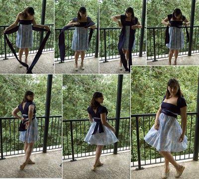 "DIY: Convertible ""Infinity"" Dress"