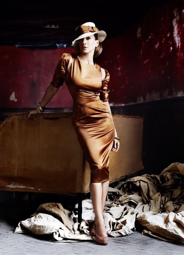 Sarah.Hats, Vogue, Mario Testino, Sjp, Fashion Forward, Dresses, Carrie Bradshaw, Sarahjessicaparker, Sarah Jessica Parker