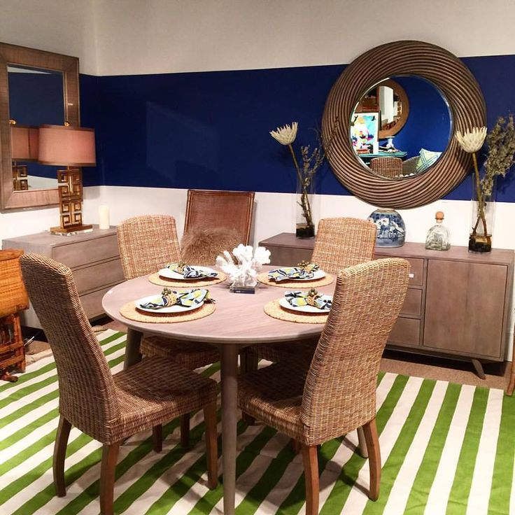 Our Inane Table And Buffet Look Great When Mixed With Siesta Side Chairs Its