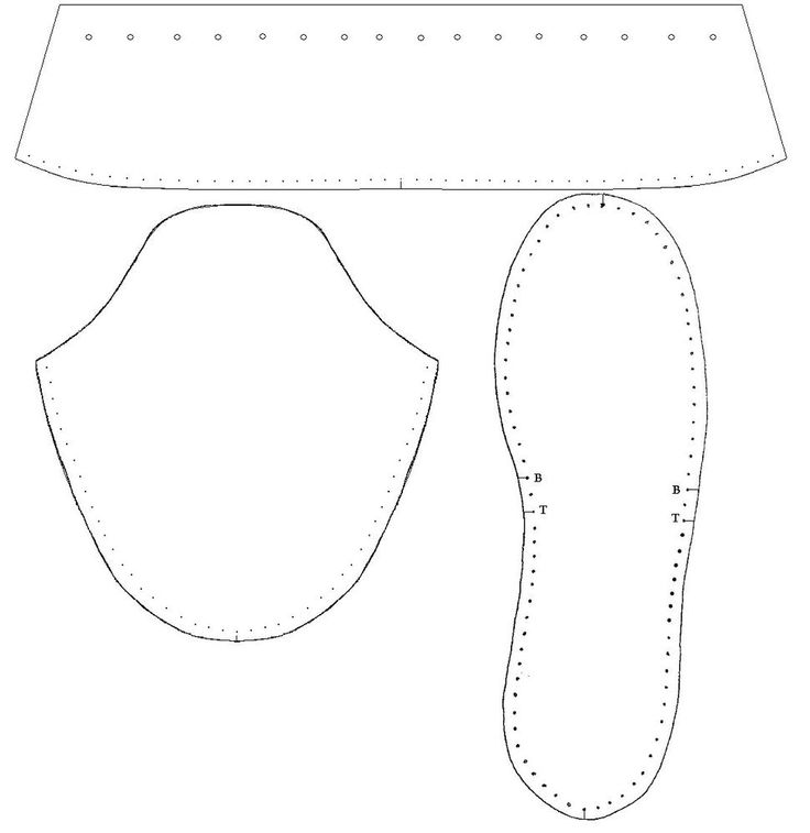 Moccasin Pattern (Paper) Mens Soft Sole Plains Indian Traditional Style #amarillochoctaw