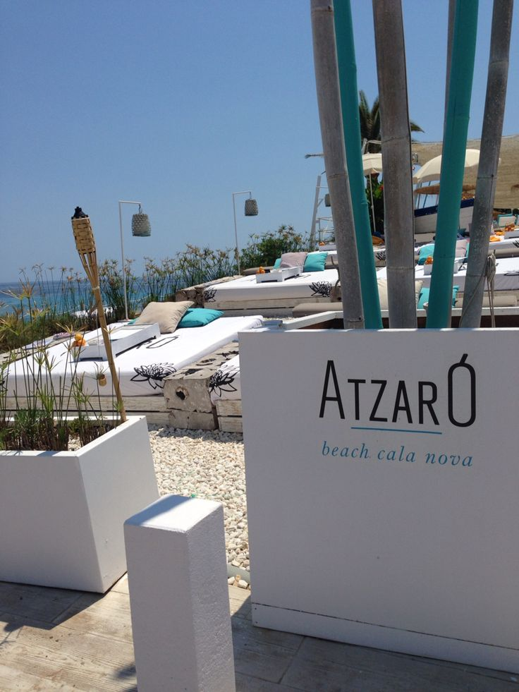Atzaro Beach Club - Island of Eivissa, Spain