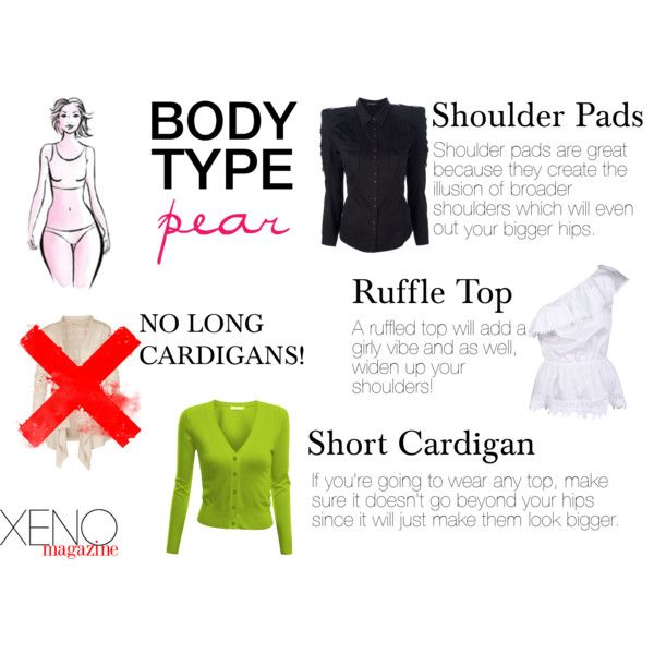 """PEAR SHAPED WOMEN: """"Dress For Your Body Type: Pear"""" by delightoftheyoung on Polyvore"""