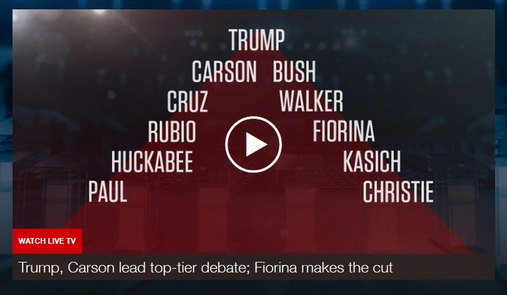 US: Carly Fiorina will appear in top-tier CNN Reagan Library debate